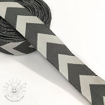 Stuha Chevron grey