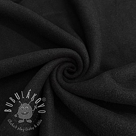 Fleece bavlna black