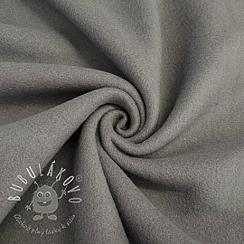 Fleece bavlna grey