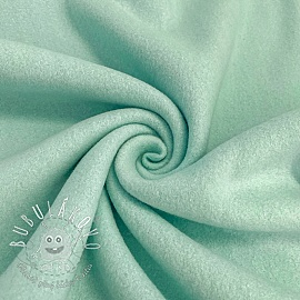 Fleece bavlna mint