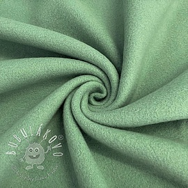 Fleece bavlna old green