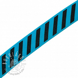 Lemovacia guma STRIPE 20 mm aqua