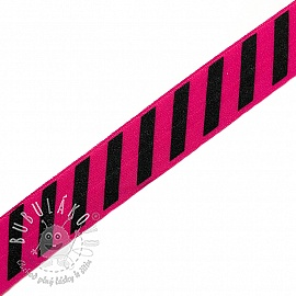 Lemovacia guma STRIPE 20 mm fuchsia
