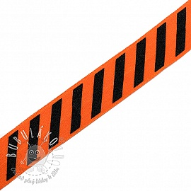 Lemovacia guma STRIPE 20 mm orange