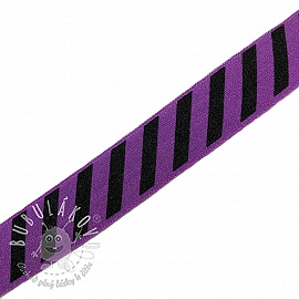 Lemovacia guma STRIPE 20 mm purple