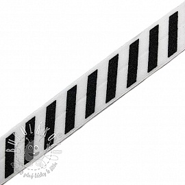 Lemovacia guma STRIPE 20 mm white
