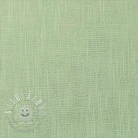 Linen enzyme washed mint