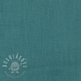 Linen enzyme washed teal