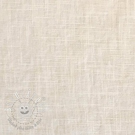 Linen enzyme washed ecru