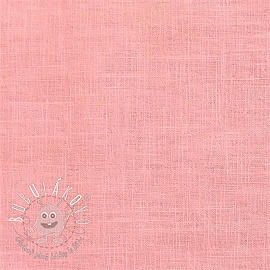 Linen enzyme washed old rose