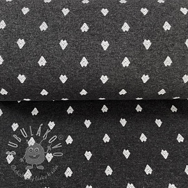 Patent hladký Pattern dark grey