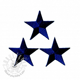 Sticker BASIC Stars navy