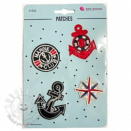 Sticker BIPP Marine Anchor