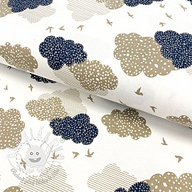 Úplet Dotted clouds jeans