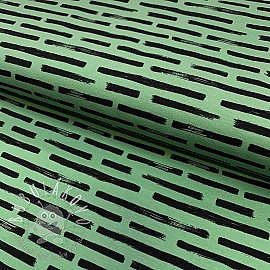 Úplet Marker stripes green