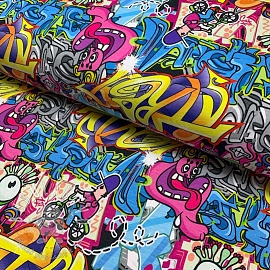 Úplet Marvellous edition Graffiti digital print