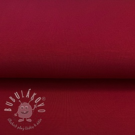 Úplet TENCEL modal dark red