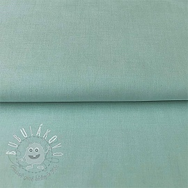 Yarn dyed poplin cotton azure