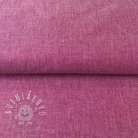 Yarn dyed poplin cotton berry