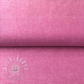 Yarn dyed poplin cotton fuchsia