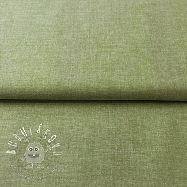 Yarn dyed poplin cotton green