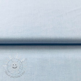 Yarn dyed poplin cotton light blue