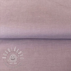Yarn dyed poplin cotton orchid