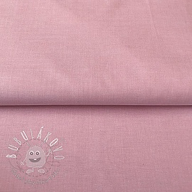 Yarn dyed poplin cotton rosa