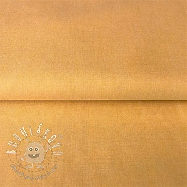 Yarn dyed poplin cotton yellow
